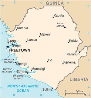 US Embassy Freetown US Embassy In Sierra Leone - Us embassy abu dhabi map