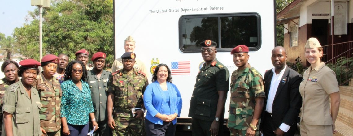 U.S. Ambassador Hands Over Mobile Health Service Caravan