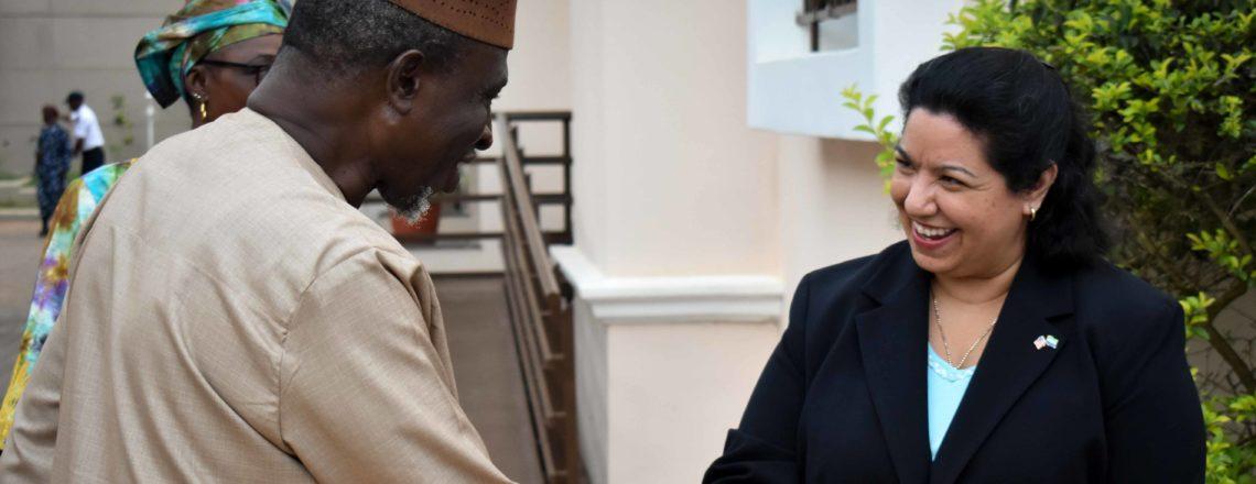 Ambassador Brewer Hosts Interfaith Iftar at her Residence