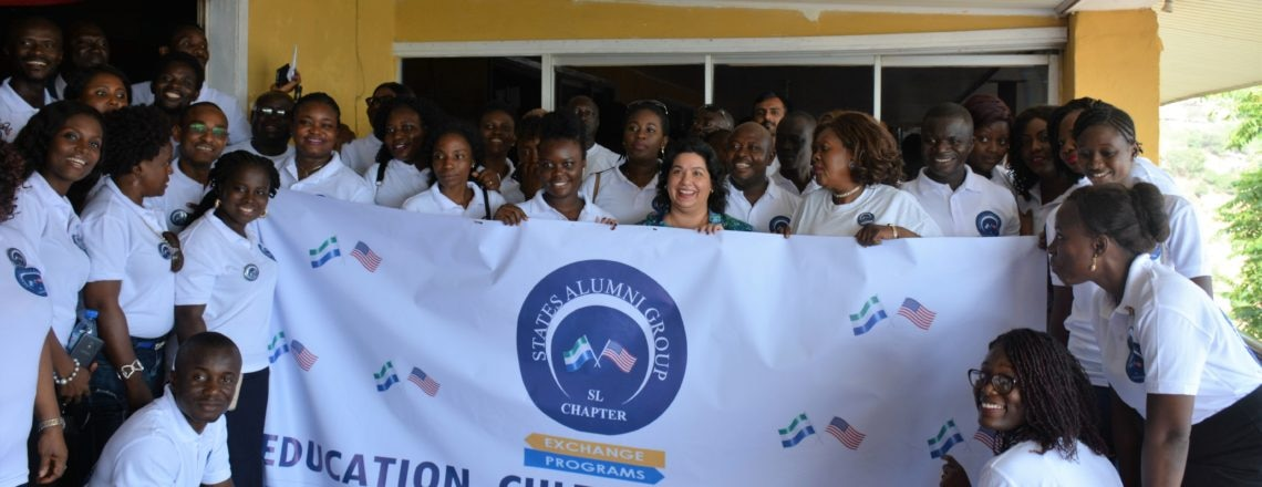 Ambassador Maria Brewer launched the  State Alumni Group in Sierra Leone